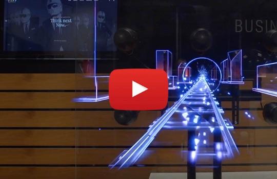 HyperVSN WALL - ściana holograficzna 3D
